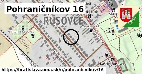 Pohraničníkov 16, Bratislava