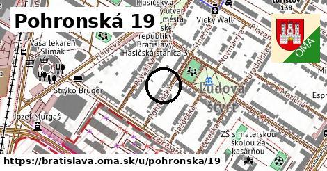 Pohronská 19, Bratislava