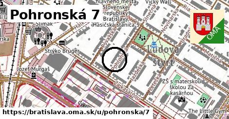 Pohronská 7, Bratislava