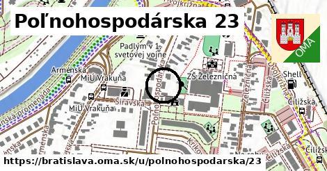 Poľnohospodárska 23, Bratislava