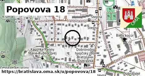 Popovova 18, Bratislava