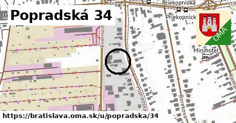 Popradská 34, Bratislava