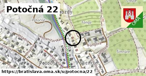 Potočná 22, Bratislava