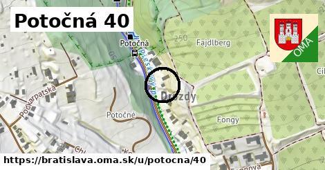 Potočná 40, Bratislava