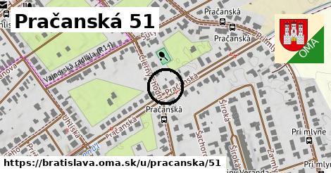 Pračanská 51, Bratislava