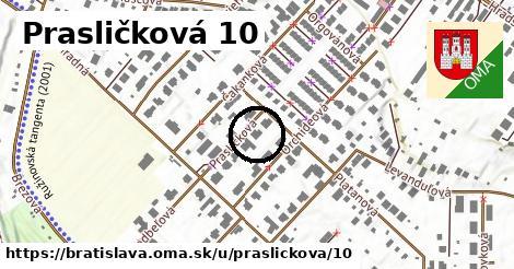 Prasličková 10, Bratislava