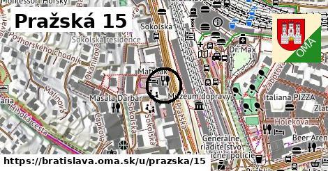 Pražská 15, Bratislava