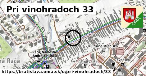 Pri vinohradoch 33, Bratislava