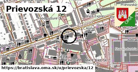 Prievozská 12, Bratislava