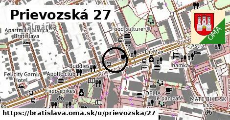 Prievozská 27, Bratislava