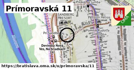 Prímoravská 11, Bratislava