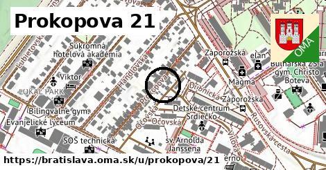 Prokopova 21, Bratislava