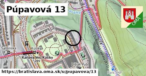 Púpavová 13, Bratislava