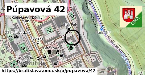 Púpavová 42, Bratislava