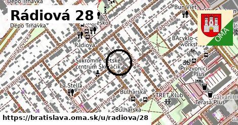 Rádiová 28, Bratislava