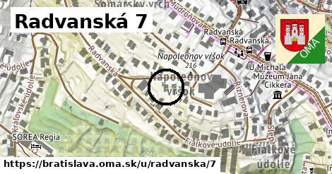 Radvanská 7, Bratislava