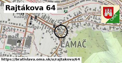 Rajtákova 64, Bratislava