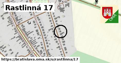 Rastlinná 17, Bratislava