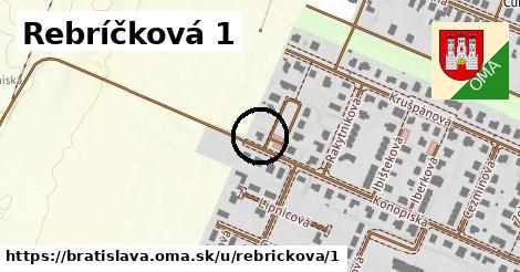 Rebríčková 1, Bratislava