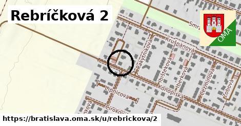 Rebríčková 2, Bratislava