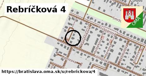 Rebríčková 4, Bratislava
