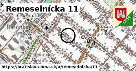 Remeselnícka 11, Bratislava
