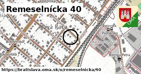 Remeselnícka 40, Bratislava