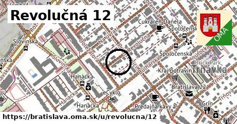 Revolučná 12, Bratislava