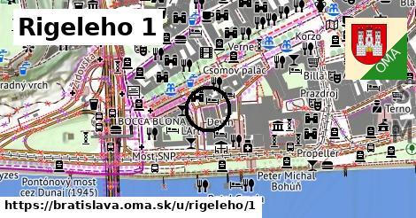 Rigeleho 1, Bratislava