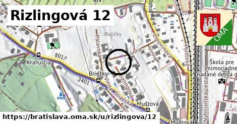Rizlingová 12, Bratislava