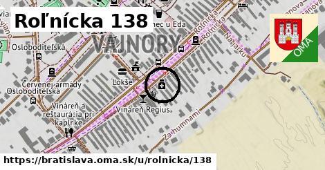 Roľnícka 138, Bratislava