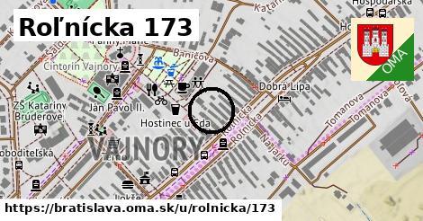 Roľnícka 173, Bratislava