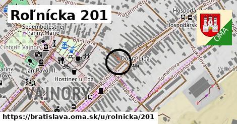 Roľnícka 201, Bratislava