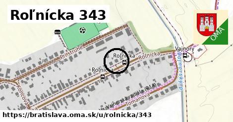 Roľnícka 343, Bratislava