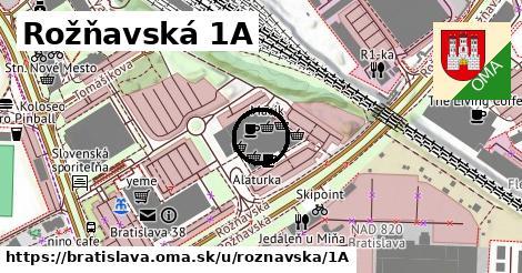 Rožňavská 1A, Bratislava