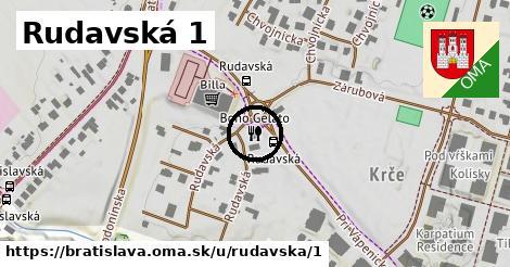 Rudavská 1, Bratislava