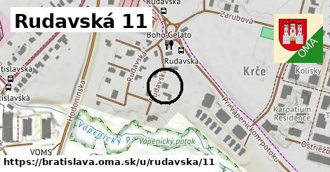 Rudavská 11, Bratislava