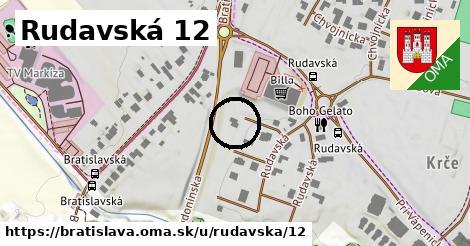 Rudavská 12, Bratislava