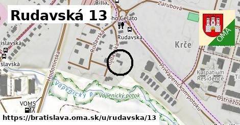 Rudavská 13, Bratislava