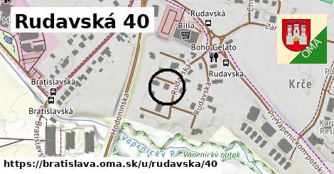 Rudavská 40, Bratislava