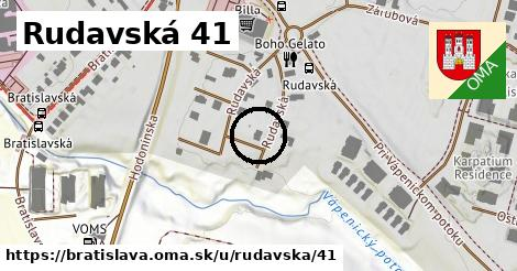 Rudavská 41, Bratislava