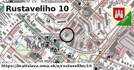 Rustaveliho 10, Bratislava