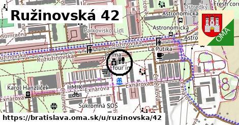 Ružinovská 42, Bratislava