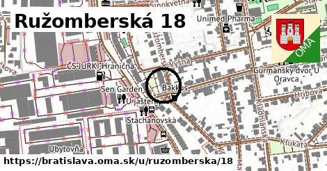 Ružomberská 18, Bratislava