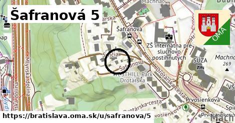 Šafranová 5, Bratislava