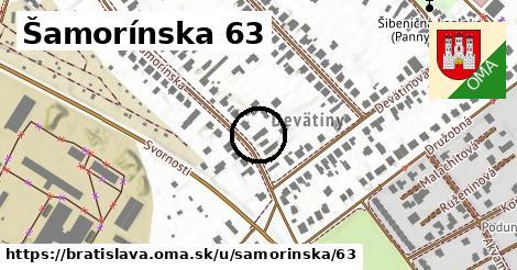 Šamorínska 63, Bratislava