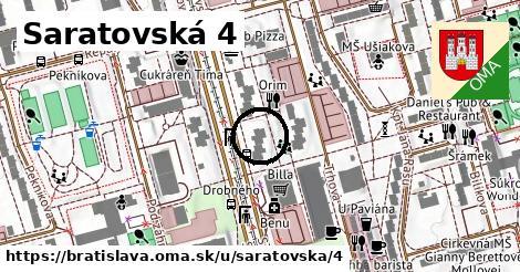 Saratovská 4, Bratislava