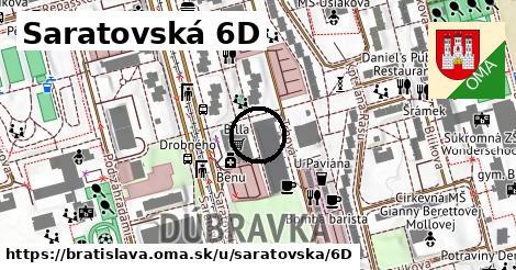 Saratovská 6D, Bratislava