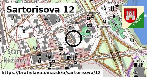 Sartorisova 12, Bratislava