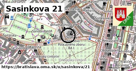 Sasinkova 21, Bratislava